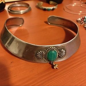 Sterling choker necklace imported from India